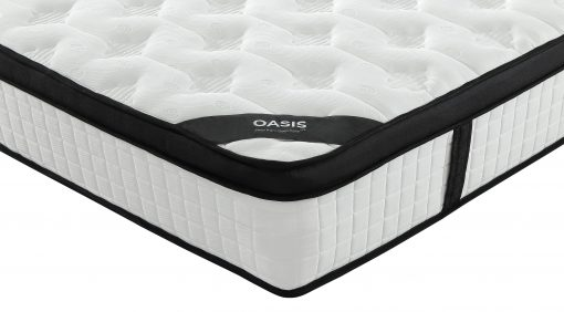 "Oasis 12"" Sleep Perfection Foam and Coil Mattress by Paarizaat"