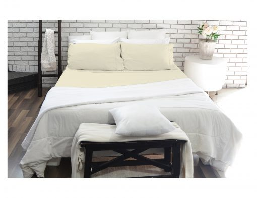 Ivory sheet set - 180 thread count by Paarizaat