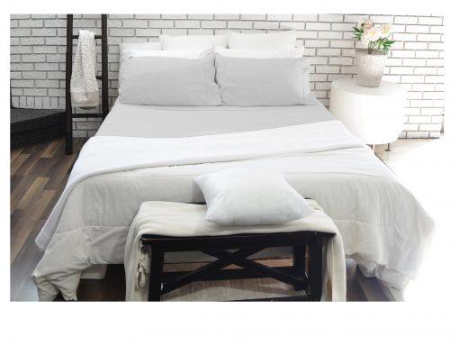 Light Grey sheet set - 180 thread count by Paarizaat