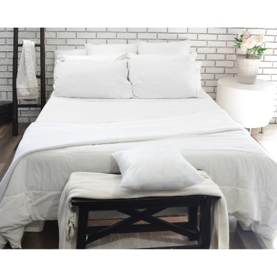 White sheet set - 180 thread count