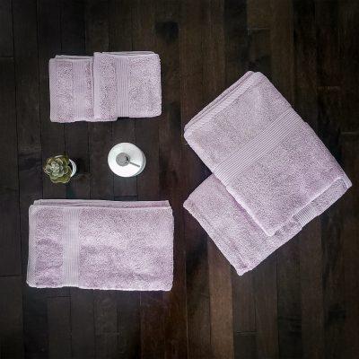 Paarizaat Bamboo Towel Mauve