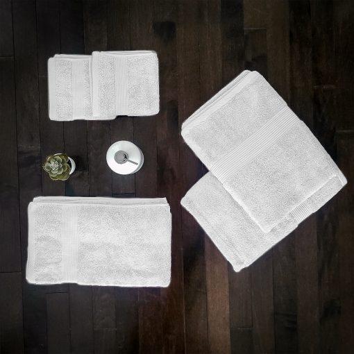 Paarizaat Bamboo Towel White