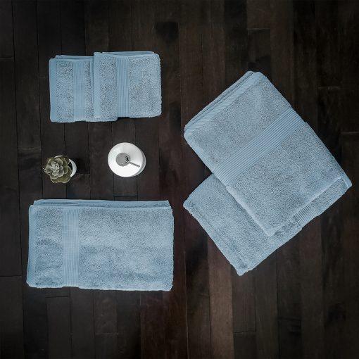 Paarizaat Bamboo Towel set (Azure)