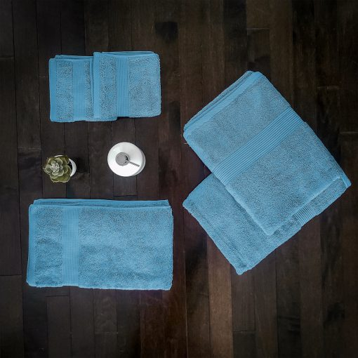 Paarizaat Bamboo Towel set (Blue)