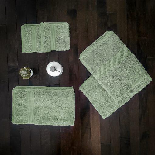 Paarizaat Bamboo Towel set (Green)