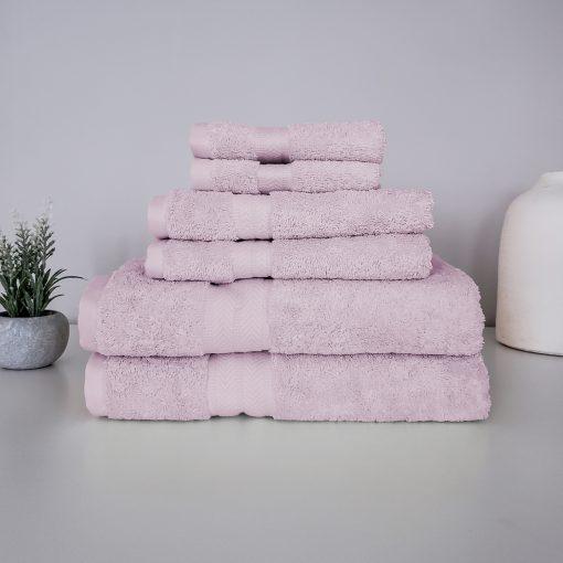 Paarizaat Organic Cotton Towel (Mauve) Set
