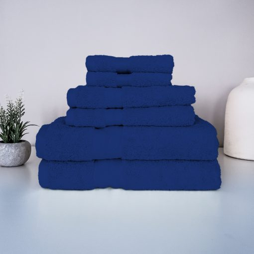 Paarizaat Organic Cotton Towel (Navy) Set