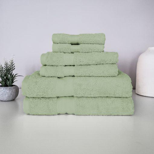 Paarizaat Organic Cotton Towel Set (Sage)