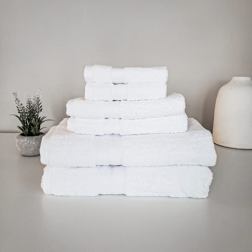 Paarizaat Organic Cotton Towel (White)