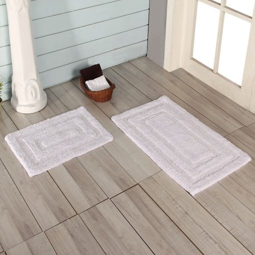 100% Cotton Bath Mats by Paarizaat