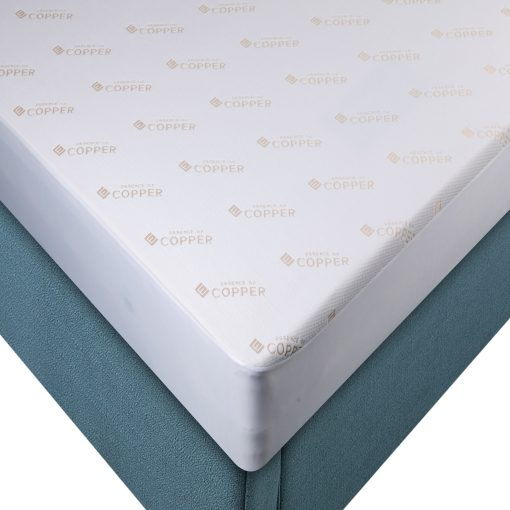 Copper Mattress Protector by Paarizaat in close up